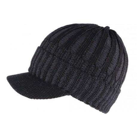 Bonnet Casquette noir doublure polaire Nafyx Nyls Création BONNETS Nyls Création