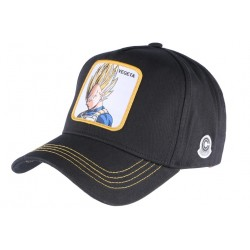 Casquette Vegeta Dragon Ball Z Bleu Jaune Collabs