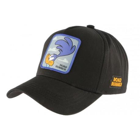 Casquette Bip Bip Road Runner bleue et noire Bip Bip Capslab