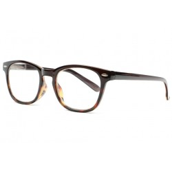 Lunettes de lecture originales marron Fashion Fity New Time