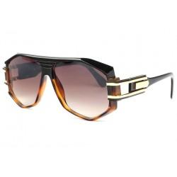 Grosses lunettes de soleil marron et noires fashion Hack LUNETTES SOLEIL SOLEYL