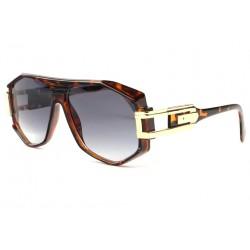 Grosses lunettes de soleil marron ecailles fashion Hack LUNETTES SOLEIL SOLEYL