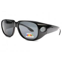 Surlunettes de soleil polarisantes Noire Confort Fysha LUNETTES SOLEIL Eye Wear