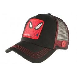 Casquette Spider Man noire et rouge Capslab