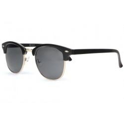 Lunettes de soleil retro noir mat argent Clubya LUNETTES SOLEIL Eye Wear