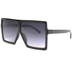 Tres grosses lunettes de soleil Fashion Noir Nack LUNETTES SOLEIL Eye Wear