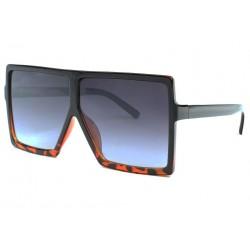 Tres grosses lunettes de soleil Fashion Marron Nack LUNETTES SOLEIL Eye Wear