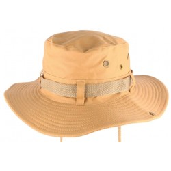 Chapeau Bob Safari Marron homme et femme Bob Safari Hip Hop Honour