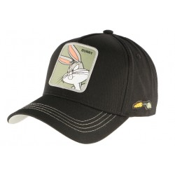 Casquette Bugs Bunny noire Looney Tunes Official WB Capslab CASQUETTES CAPSLAB