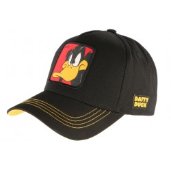Casquette Daffy Duck noire Looney Tunes Official WB Capslab