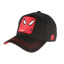 Casquette Spider Man noire et rouge Marvel Official Capslab CASQUETTES CAPSLAB