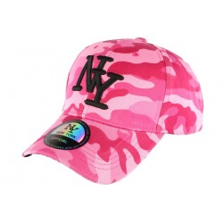 Casquette NY militaire rose et rouge fashion baseball Chief CASQUETTES Hip Hop Honour