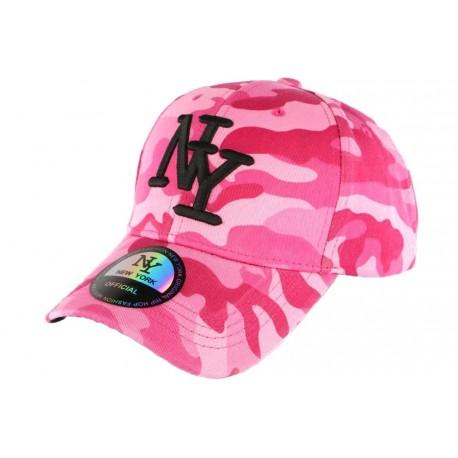 Casquette NY militaire rose et rouge fashion baseball Chief CASQUETTES Hip Hop Honour