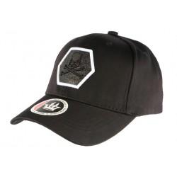 Casquette Baseball Noire Tete de Mort Fashion Hexkyl