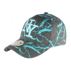 Casquette NY Bleue et Grise Baseball Fashion Spyder