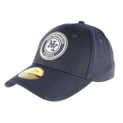 Casquette Baseball New York Fashion Original NY Bleue Coton Premium