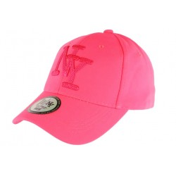 Casquette NY Rose Fluo Flashy Baseball Gwyz