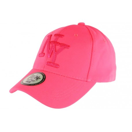 Casquette NY Rose Fluo Flashy Baseball Gwyz CASQUETTES Hip Hop Honour