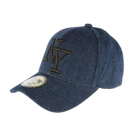Acheter Authentic prix bas design distinctif Casquette NY Bleu Marine Tendance, Casquette Baseball été livré en 48h