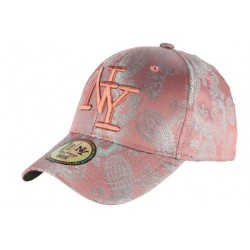 Casquette Baseball Rose Tendance et Classe Luxe NY Dily