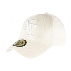 Casquette Baseball Blanche Tendance et Classe Luxe NY Dily
