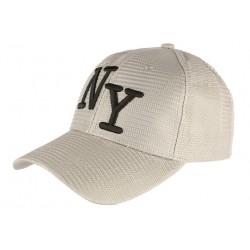 Casquette Trucker Grise NY Noir Look Ete Fun Baseball Liak CASQUETTES Hip Hop Honour