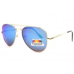 Lunettes de soleil polarisees Miroir Bleu Monture Aviateur Fury LUNETTES SOLEIL Eye Wear