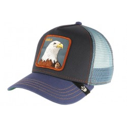 Casquette Goorin Bleue Eagle Trucker Baseball Animals CASQUETTES GOORIN BROS