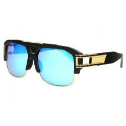 Grandes Lunettes soleil Miroir Bleu Fashion Krak LUNETTES SOLEIL SOLEYL