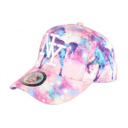 Casquette NY Enfant Licorne Rose et Blanche Fantaisie Baseball ANCIENNES COLLECTIONS divers