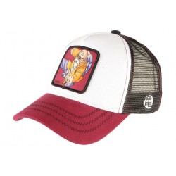 Casquette Dragon ball Z Tortue Geniale Kame Rouge et Blanche Baseball CASQUETTES CAPSLAB
