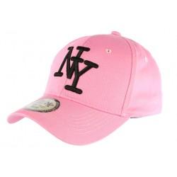 Casquette NY Rose et Noire Fashion Baseball Alyz CASQUETTES Hip Hop Honour