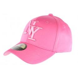 Casquette NY Rose Fashion et tendance Baseball Alyz CASQUETTES Hip Hop Honour