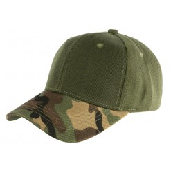 Casquette Armee Vert Kaki Baseball Camouflage Chasse Ryx CASQUETTES Nyls Création
