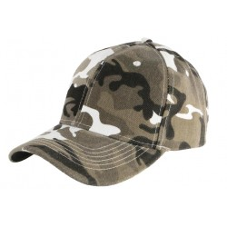 Casquette Militaire Grise Blanche Baseball Camouflage Armee Rexy CASQUETTES Nyls Création