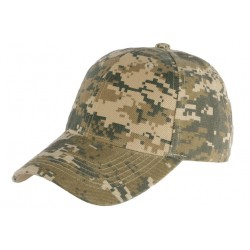 Casquette Army Vert Baseball Camouflage Chasse Raky CASQUETTES Nyls Création