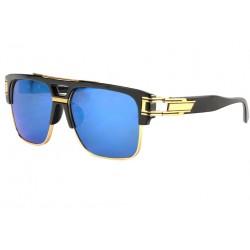 Grande lunette de soleil Miroir Bleu Fashion Clak LUNETTES SOLEIL Eye Wear