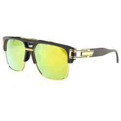 Grandes lunettes de soleil Miroir Dore Fashion Clak LUNETTES SOLEIL Eye Wear