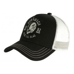 Casquette Von Dutch Noire Rock The Road Hel Trucker Baseball CASQUETTES VON DUTCH