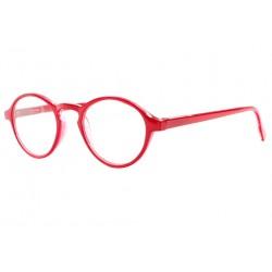 Lunettes de lecture rondes rouge fashion Saxy Lunettes Loupes New Time