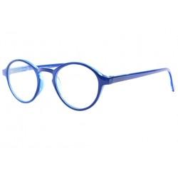 Lunettes de Lecture Rondes Bleues Mode Fashion Saxy Lunettes Loupes New Time