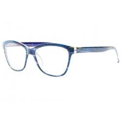 Lunettes de Lecture Originales Bleues Fashion Pop Art Folk Lunettes Loupes New Time