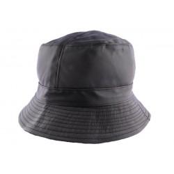Chapeau de pluie mixte Earth Noir CHAPEAUX Nyls Création