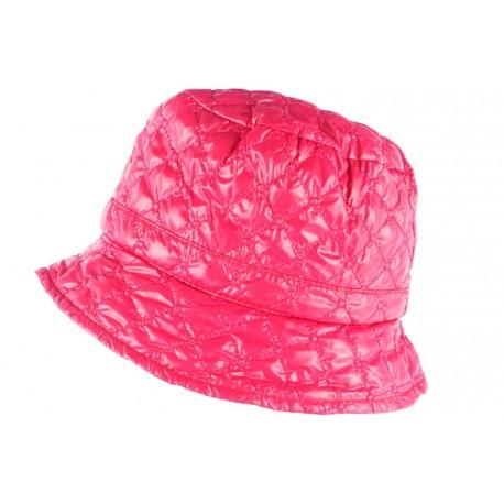 Chapeau de Pluie Femme Rose Clody Doublure Polaire Nyls Création CHAPEAUX Nyls Création