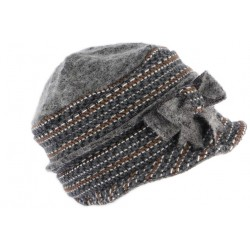 Chapeau Femme Hiver Gris Mode Bonnet Toque Laine Bouillie Celia CHAPEAUX Léon montane