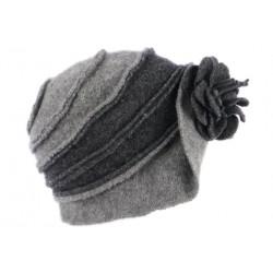 Chapeau Femme Hiver Gris Vintage Bonnet Beret Laine Bouillie Melia CHAPEAUX Léon montane