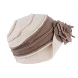 Chapeau Femme Hiver Beige Vintage Bonnet Beret Laine Bouillie Melia CHAPEAUX Léon montane