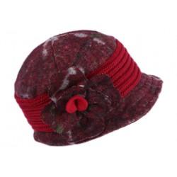 Beret Chapeau Laine Femme Rouge Retro Bonnet Toque Hiver Renya CHAPEAUX Léon montane