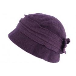 Chapeau Femme Laine Beret Toque Violet Hiver Mode Felicy CHAPEAUX Léon montane