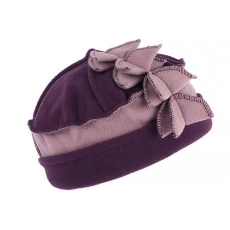 Bonnet Beret Femme Violet Rose Chapeau Toque en Polaire fashion Lenya CHAPEAUX Léon montane